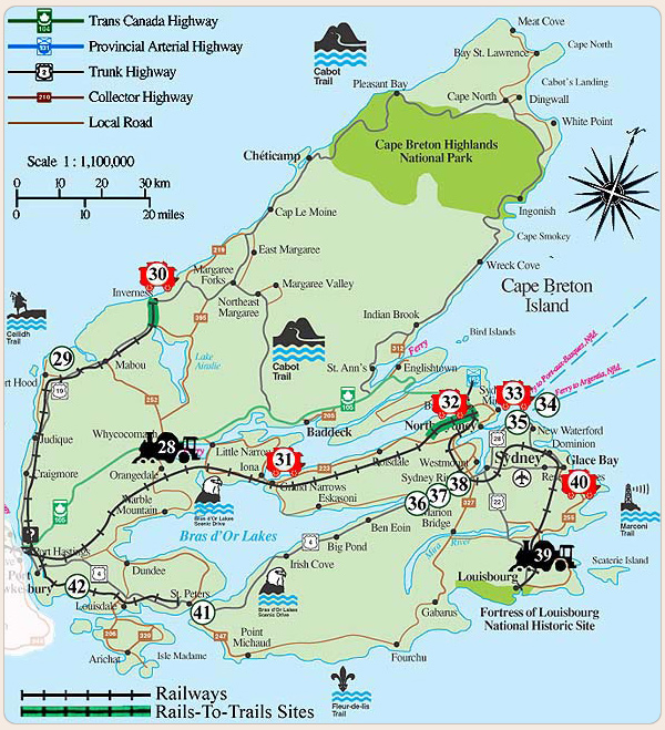 Railway Heritage Attractions on CAPE BRETON Island